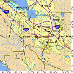 map of cupertino california cupertino california ca population data races