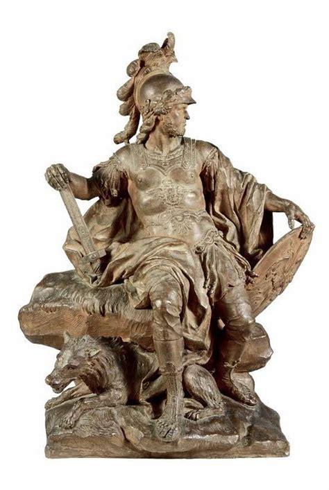 sculpture from antiquity to guillaume ier coustou lyon 1677 paris 1746 mars terre cuite louvre museum