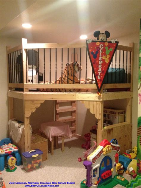 Bunk Bed With Play Area Pin By Hartwell On Pipe Dreaming