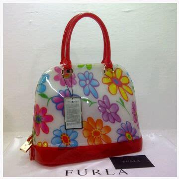 Tas Furla Alma 2588 tas furla alma jelly flower semi ori toko brand