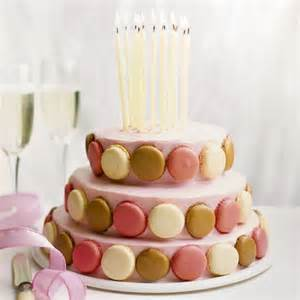 show stopping macaroon tier cake woman and home