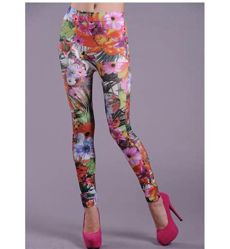 flower pattern leggings fashion flower pattern legging l5167