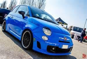Blue Abarth 500 Fiat 500 Blue Sky Animo Abarth Www Fuorigirimotore