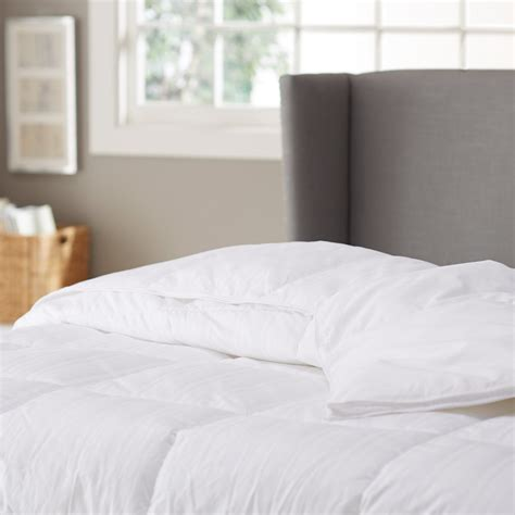 pinzon down comforter best goose down bedding for asthma and allergy sufferers