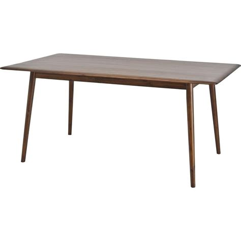 bench style dining table uk buy libra walnut wood retro dining table from fusion