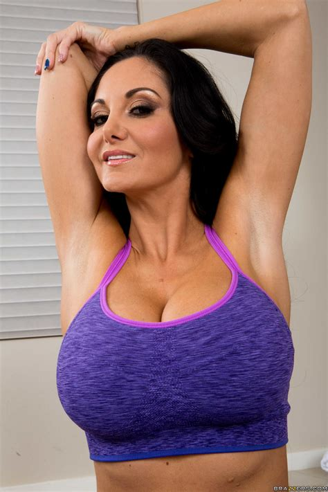 Ava Addams Arm Stretch And Cleavage Beauty Of Erotism