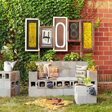 cinder block patio furniture 11 creative ways to use cinder blocks tip junkie