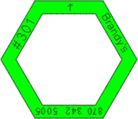Patchwork Hexagon Templates Free - patchwork hexagon templates