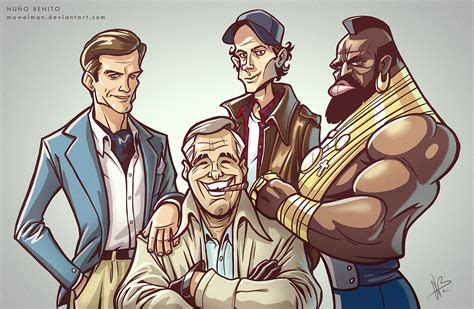 The A Team by The A Team By Mawelman On Deviantart