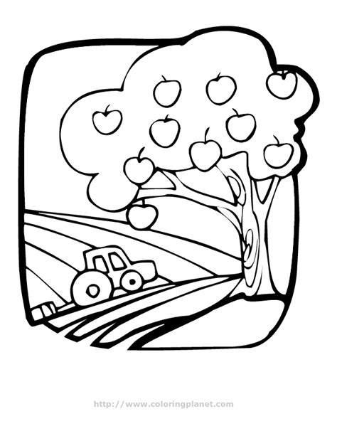 apple farm coloring pages apple tree coloring page az coloring pages