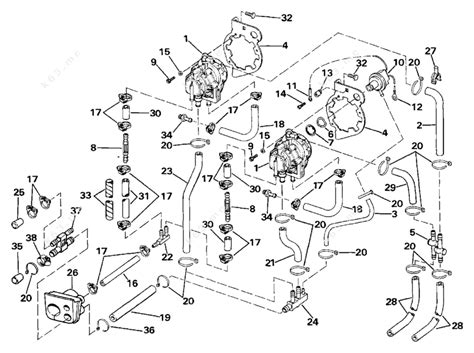 Evinrude 1987 275 E275clcur Vro Pump Parts Catalog