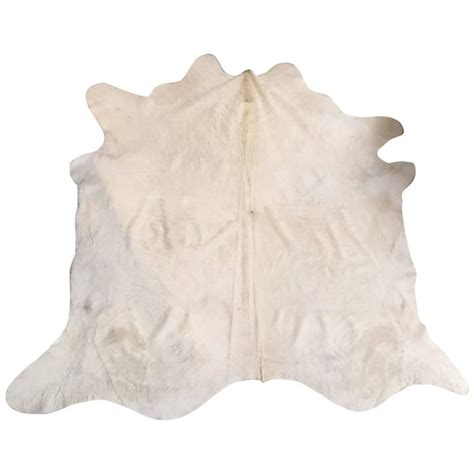 argentina cowhide rug argentinian white cowhide rug for sale at 1stdibs
