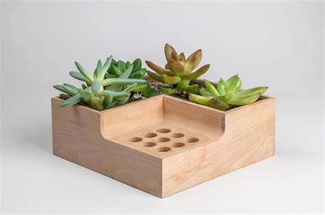 Planter Holder by Eco Pot Modular Planter And Pen Holder