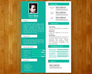 powerpoint resume template free single slide resume template for powerpoint free