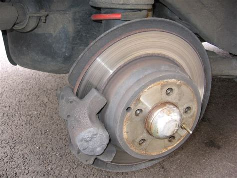 replace rear brake pads  discs  volvo