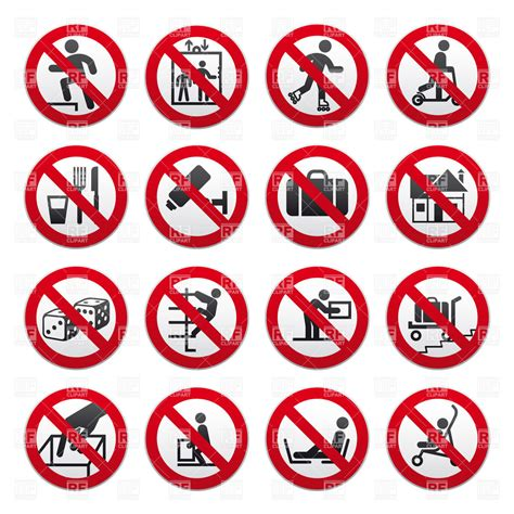 A Forbidden forbidden sign clipart clipground