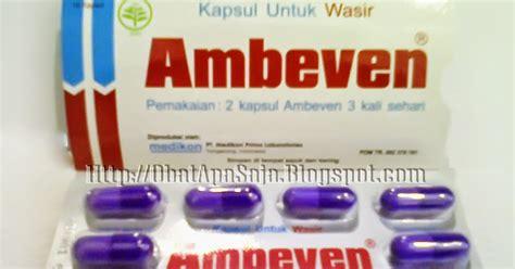 ambeven kapsul untuk wasir informasi obat obatan