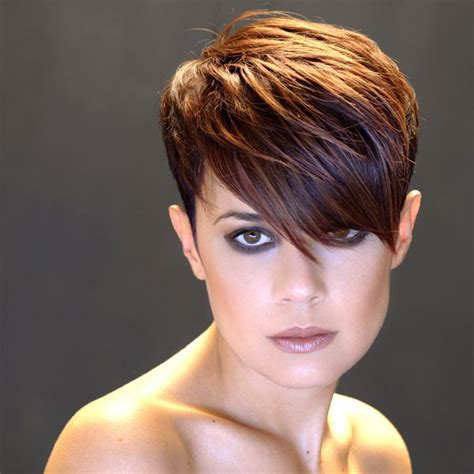 edgy haircuts bangs 117 best inspiring pixie cuts images on pinterest