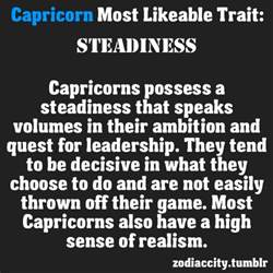 capricorn traits on tumblr