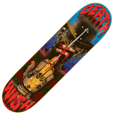 Deathwish Deck by Deathwish Skateboards Deathwish Fingered Deck 8 0