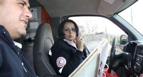 safiya al bibissi the palestinian ambulance driver