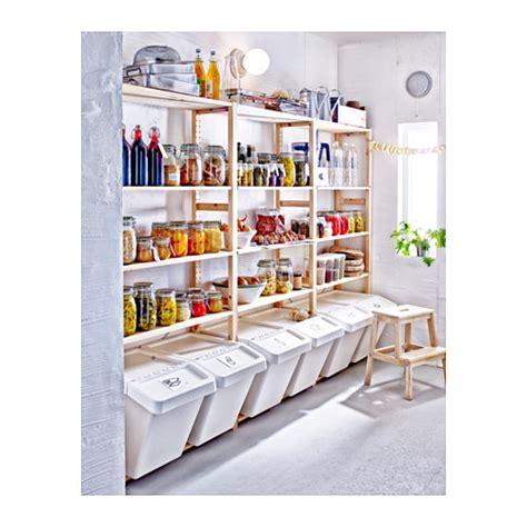 Ivar 1 section shelves pine 89x50x179 cm ikea