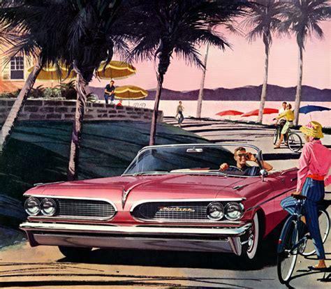 Plan59 :: Classic Car Art :: Vintage Ads :: 1959 Pontiac