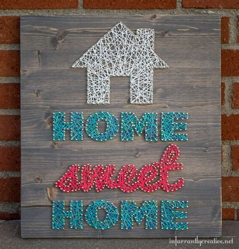 String Ideas - 12 easy diy home decor ideas using string diy ready