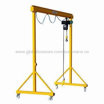 Manual Gantry Crane Eurosystem Steel Profile Movable