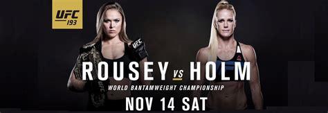 who won ufc 193 last night ronda rousey vs holly holm ronda rousey and holly holm ufc 193 embedded part 1