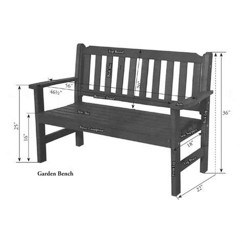 bench berlin berlin gardens poly garden bench bars benches picnic