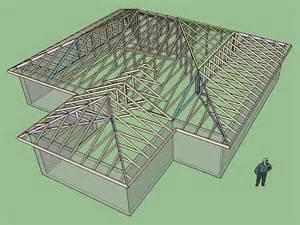 hip truss roof half hip truss set truss engineering design fabrication