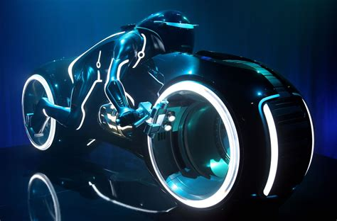 tron lightcycle sold at auction for 77 000