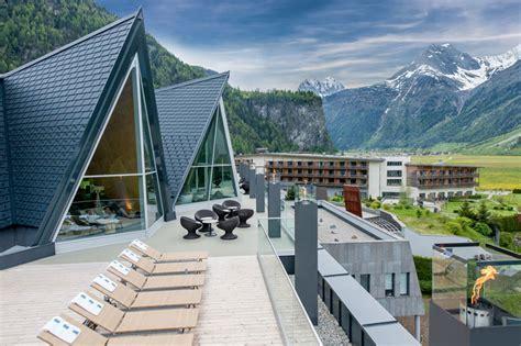 designboom resort aqua dome thermal resort in the mountains of austria
