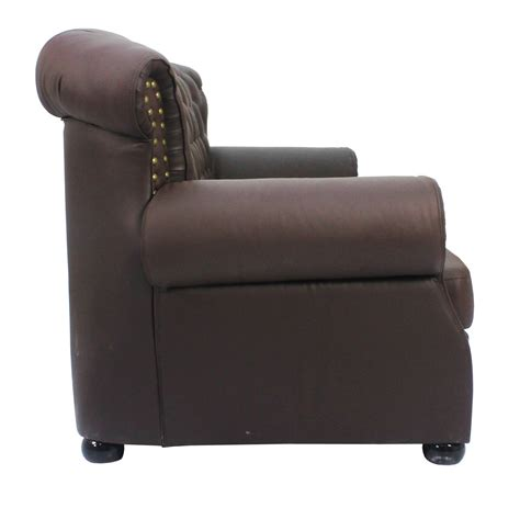 pu leather sofa reviews tydus strusso classical 3 seater pu leather sofa in dark
