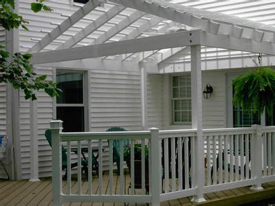 wood deck with pergola 301 moved permanently