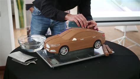 make model cars moscow russia december 4 2014 shows how to make a