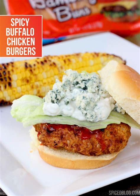 buffalo chicken spicy buffalo chicken burgers