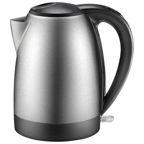 pot 0 7l stainless insignia electric kettle 1 7l stainless steel