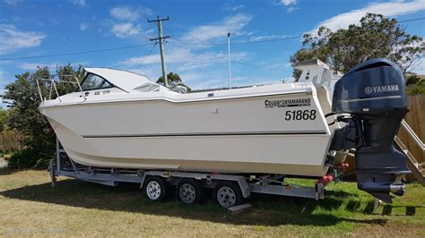 used boat trailers for sale tasmania cougar cat 26 built to survey trailer boats boats