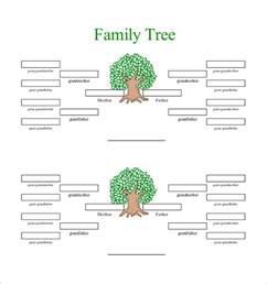 4 generation family tree template free 25 family tree templates free sle exle format