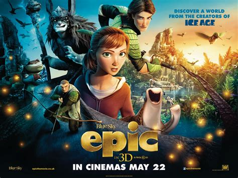 Film Review Of Epic | a to z for moms like me epic movie review