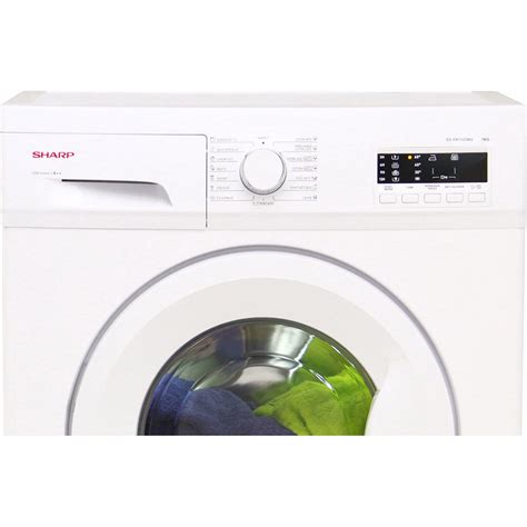 sharp test test sharp es fa7123w2 fr lave linge ufc que choisir