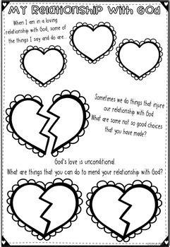 Reconciliation Worksheets ~ Sacrament of Confession ~ Sin
