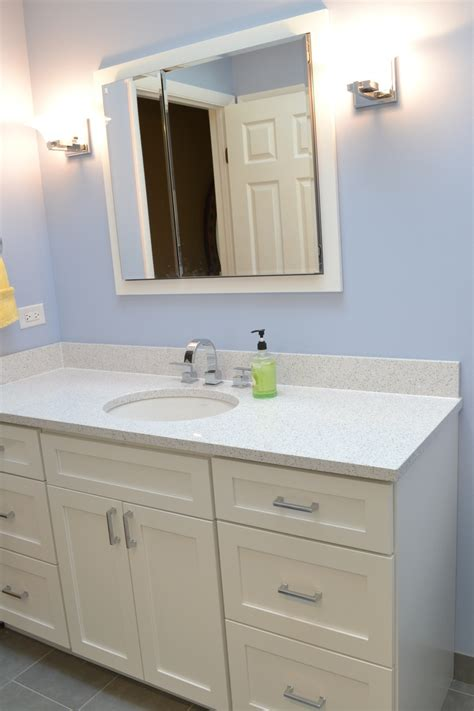 bathroom cabinet colors cambria quartz color whitney paired with painted white