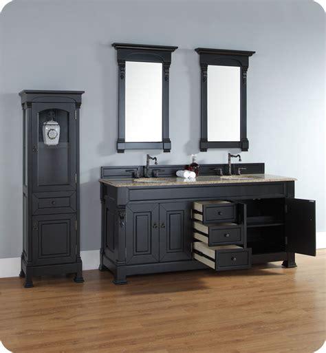 James Martin 147 114 5731 Brookfield 72 Quot Double Bathroom Antique Black Bathroom Vanity