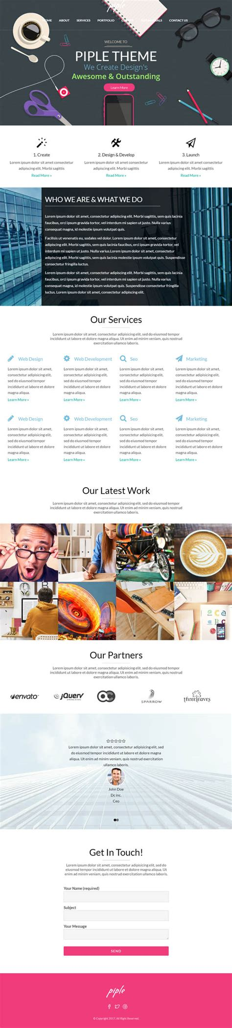 Piple Search Piple Creative Multipurpose Theme Themes Design