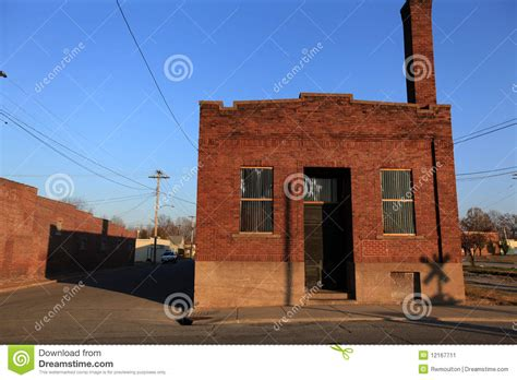 old warehouses for sale old brick warehouse along the tracks stock image image