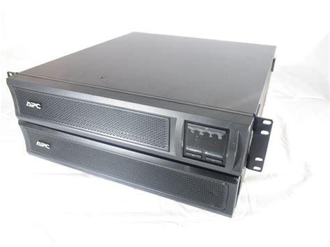412ve apc smartups 1500va ups 120v smx1500rm2u smx48rmbp2u