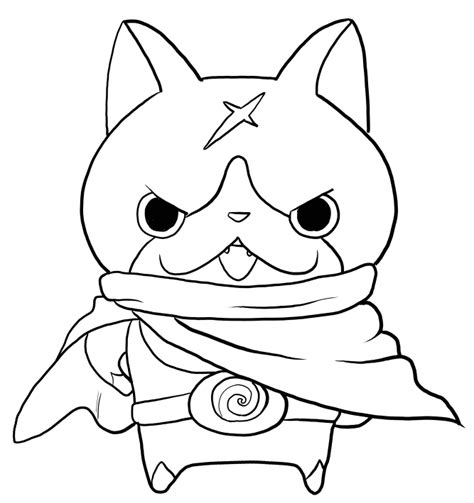 yo kai watch coloring page hovernyan from yo kai watch coloring pages